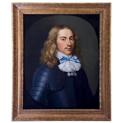 Portrait d'Un Officier, Vers 1660 - Cercle d'Adriaen Hanneman