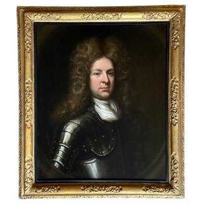 Portrait Du XVIIe Siècle D'Almeric De Courcy 23ème Baron Kingsale.