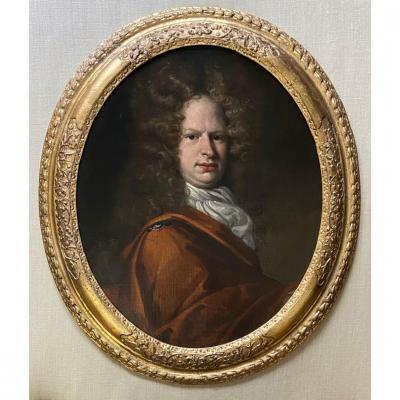 Portrait d'un Gentleman Du XVIIe Siècle - Cercle De Jean Baptiste De Medina