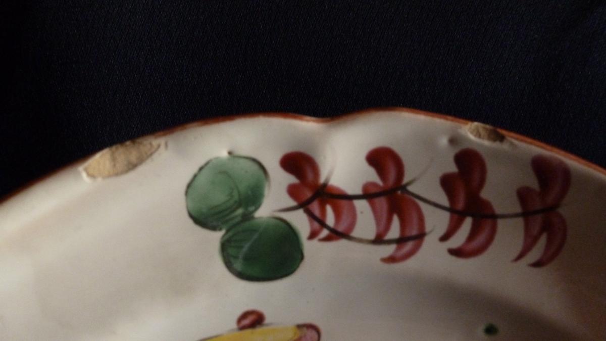 Assiette en faience -photo-3