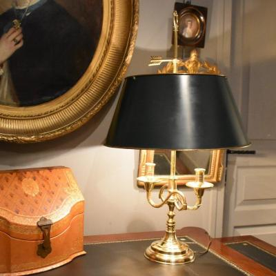 Grande Lampe Bouillotte With Two Lights