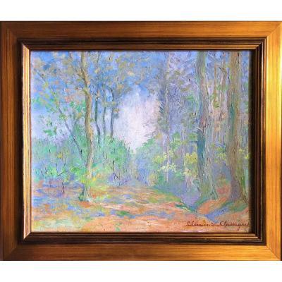 Landscape Clement Chassagne Forêt d'Oche 1935