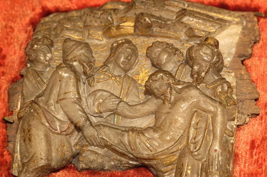 Bas-relief Albâtre De Malines (flandres)