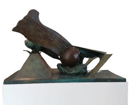 Bronze «Feu, Ombre, Pénombre», 1984, édition 1/1 Par Ipoustéguy-photo-1