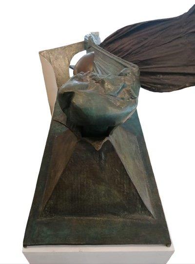 Bronze «Feu, Ombre, Pénombre», 1984, édition 1/1 Par Ipoustéguy-photo-3