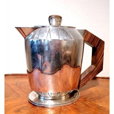 Jean E. Puiforcat Silver Teapot
