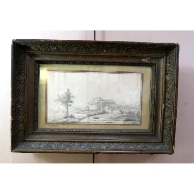 18th Century Bastide Drawing