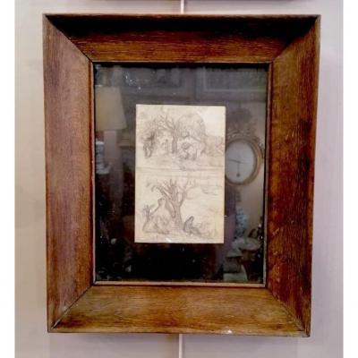 Dessins Au Crayon Paysages Impressionnistes Par Armand Guillaumin