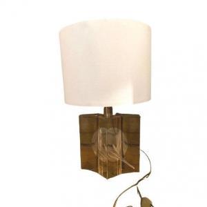 Lampe Plexiglas Aux Blés Cloisonnés