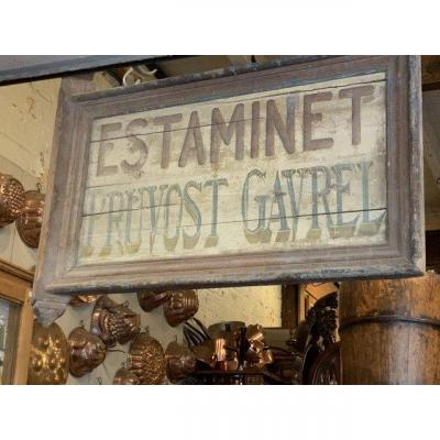 Estaminet Sign