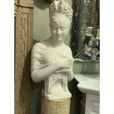 Buste Marbre de Madame RECAMIER