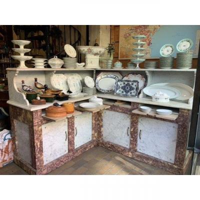 Butcher's Corner Butcher's Cabinet