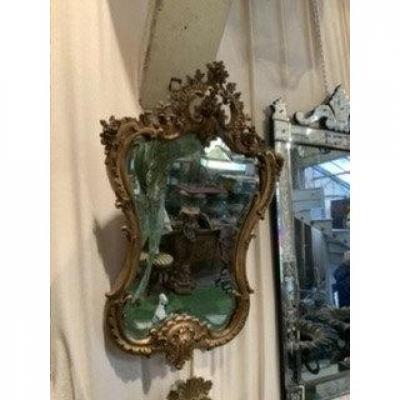 Miroir D Esprit Rocaille