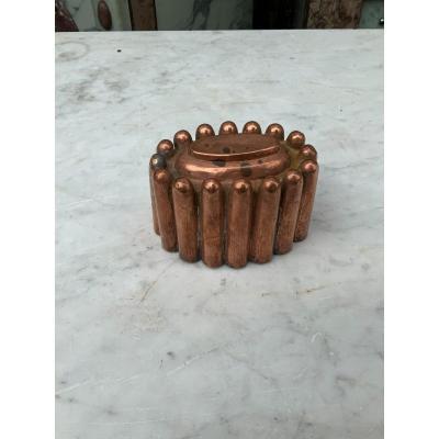 Copper Strawberry Mold