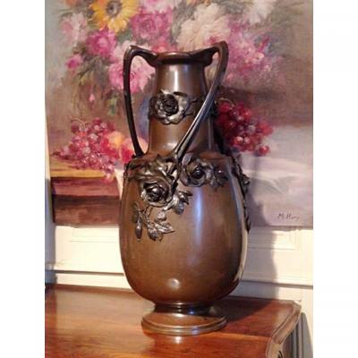 Grand Vase Art Nouveau époque 1900