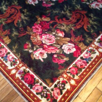 Large Carpet Of 4 M, Mechanical, Late Nineteenth