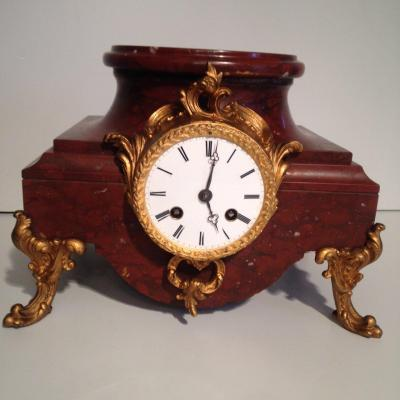 Clock Presentation Louis XV Style, Nineteenth