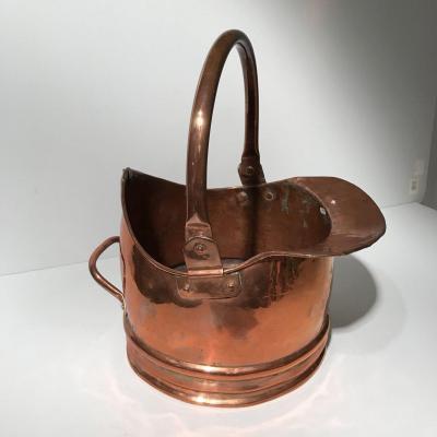 Large 19th Century Copper Milk Jug