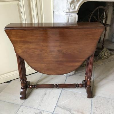 Serving Table Louis Philippe Napoleon III Mahogany Nineteenth