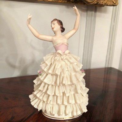 Porcelaine «La Danseuse» Germany XIXe