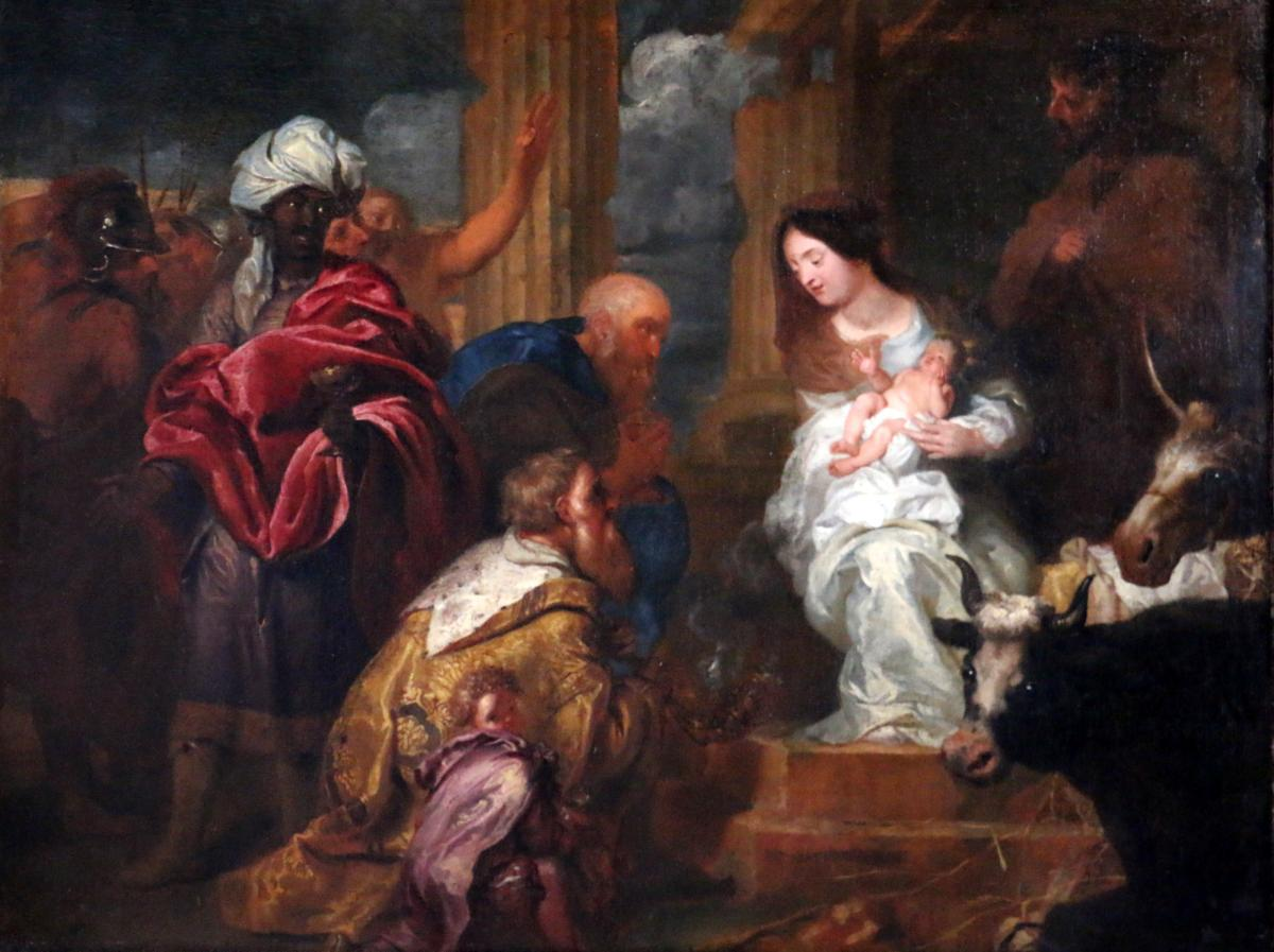Jan Boeckhorst (munster 1605-1668) Grande Adoration des rois Mages