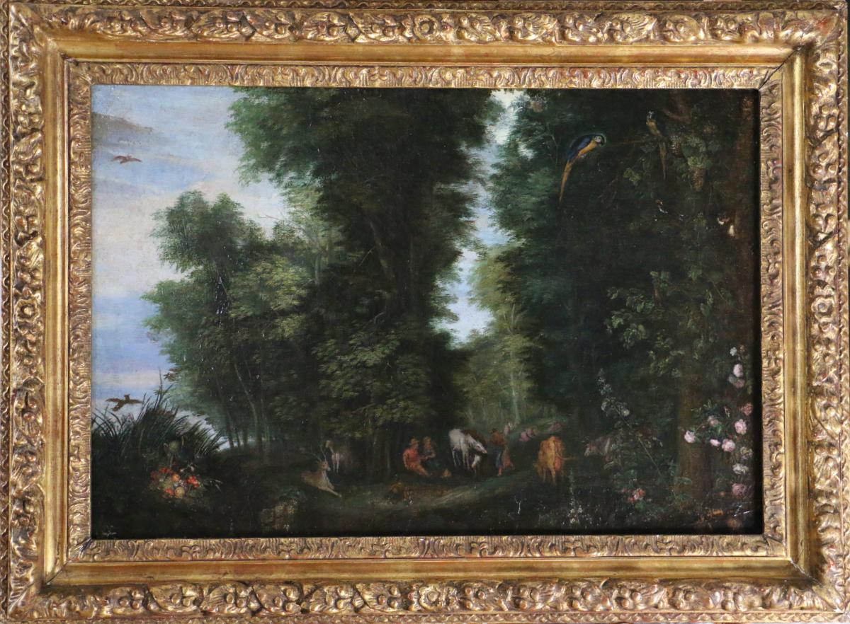 Jan Brueghel L'ancien Dit Brueghel De Velours (1568-1625) et Atelier