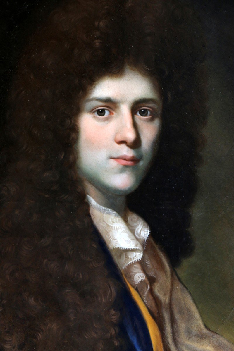 Jean Ranc (1674-1735) Attributed. Portrait Of A Young Gentleman Circa 1700