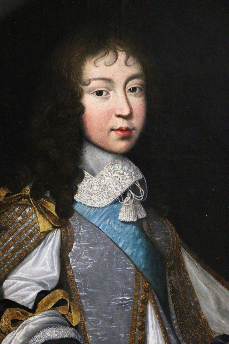 Louis Ferdinand II Elle l'ancien (1612; 1689) Attribué. Portrait De Louis XIV Enfant,  Vers 1646-photo-5