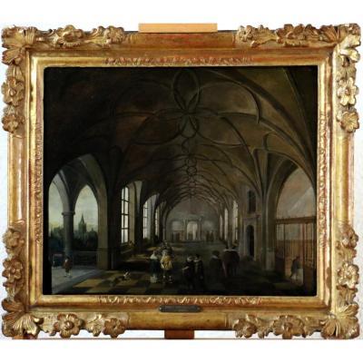 Hendrik Van Steenwijk I (1550-1603) - Royal Palace Of Prague-throne Room