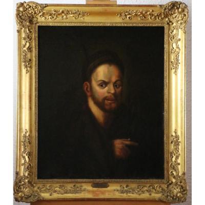 Ecole Hollandaise Du 18è Siècle D'après Ferdinand Bol-portrait