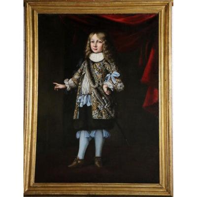 Portrait Of Prince Charles XI Of Sweden Attributed To Justus Sustermans (1597-1681)