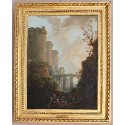 Ou Ou Pupil By Joseph Vernet (1714-1789) - Animated Landscape