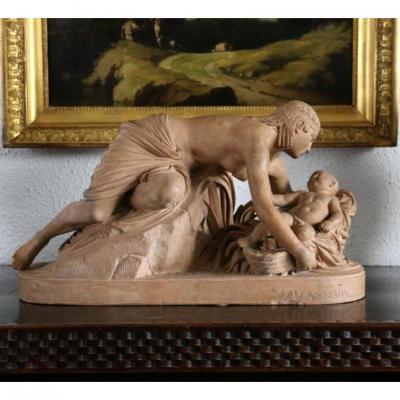 Moïse Sauvé Des Eaux - Jules Allasseur (1818-1903)