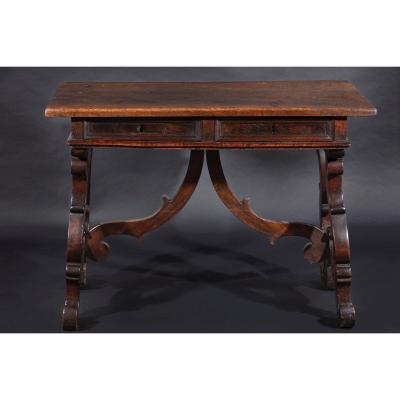 Petite Table Fractale Du XVII Siècle
