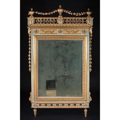 Miroir En Bois Louis XVI