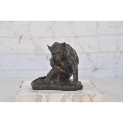 Maurice Roger Marx (1872-1956), Sitting Monkey