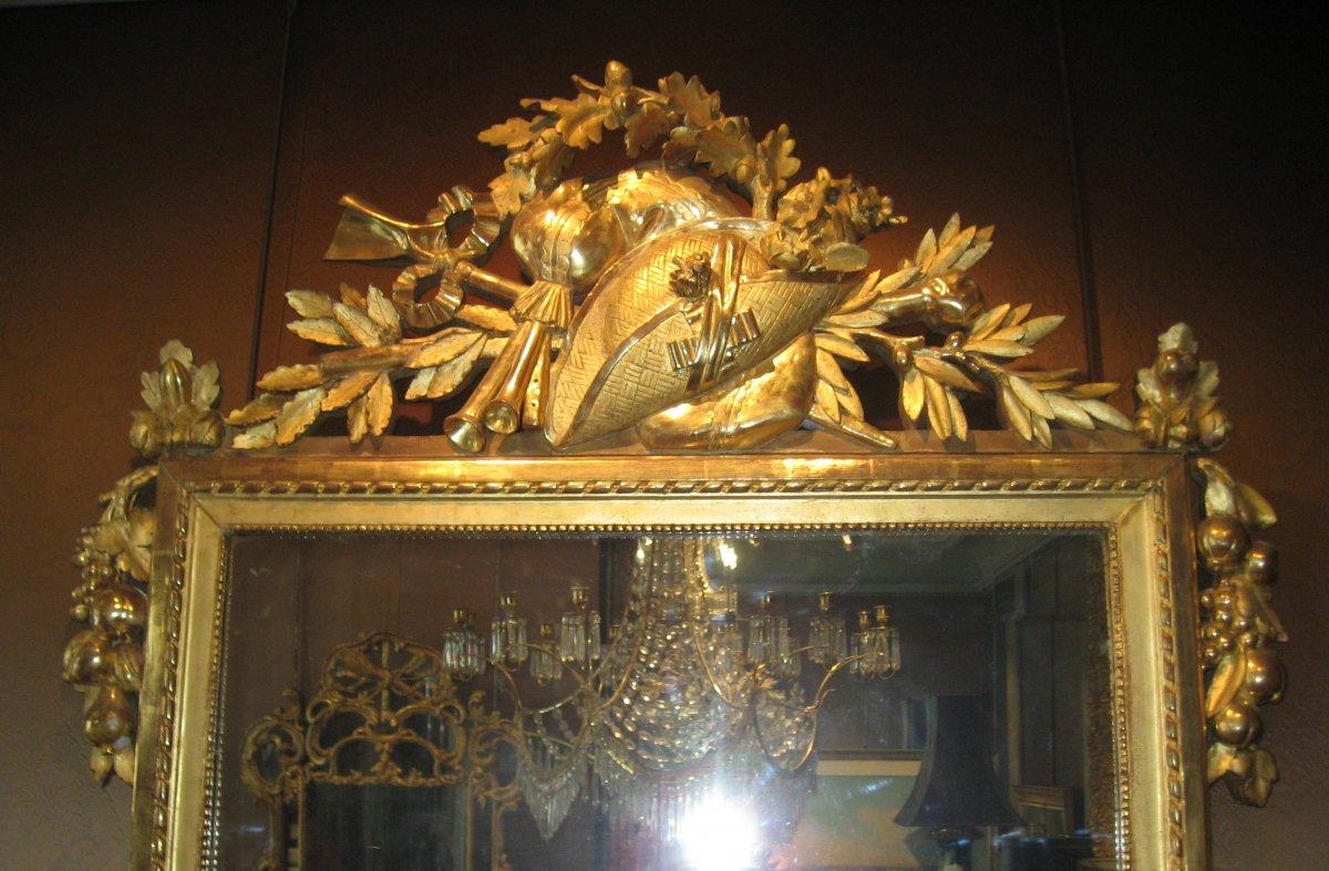 Miroir d'époque Louis XVI-photo-1
