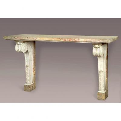 19th Century Marble Console