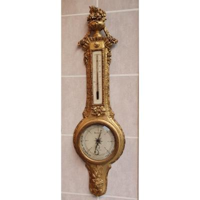 Louis XV Period Barometer