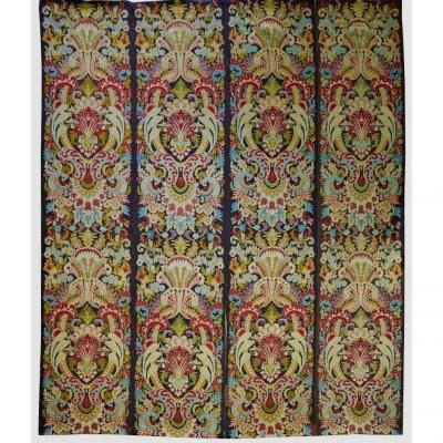Suite Of Four Panels In Louis XIV Style Tapestry