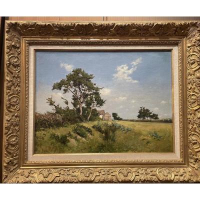 """landscape"" Signed P.poitevin"