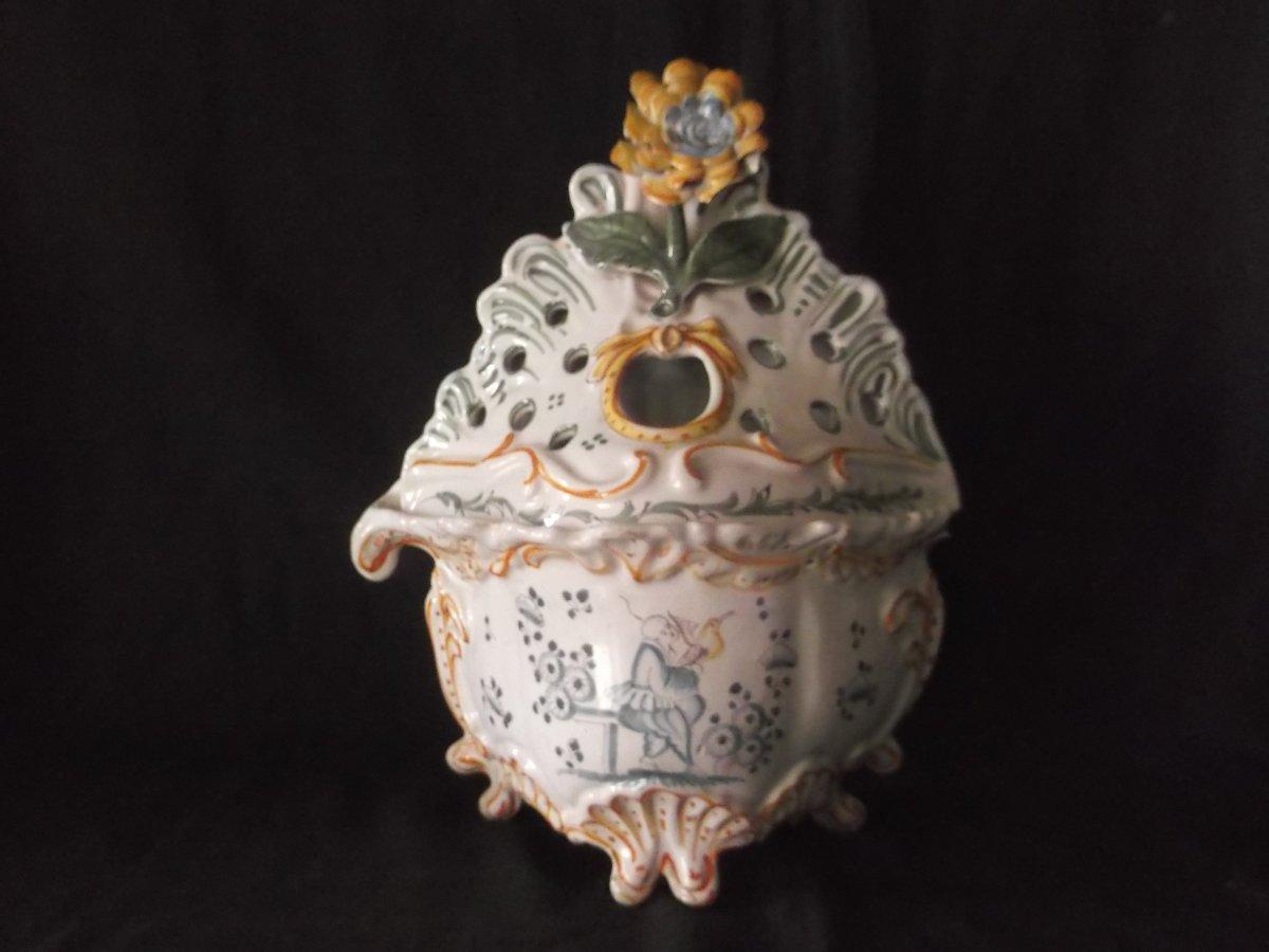 18th Century Bordeaux Montauban Flowerpot