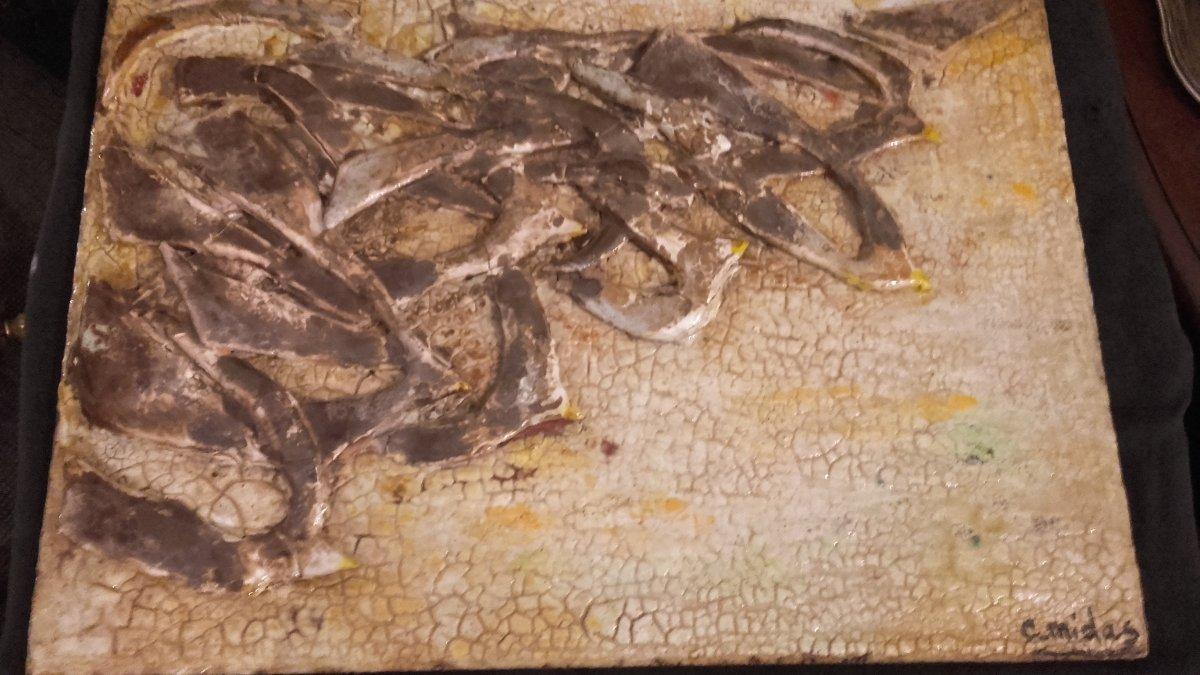 Cecile Midas Ceramic Plate - Migratory Bird