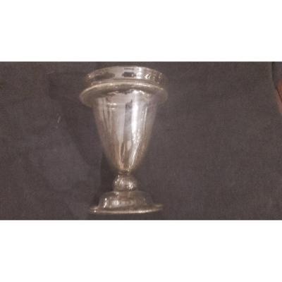 Calisse Vase Verrerie XVIIe