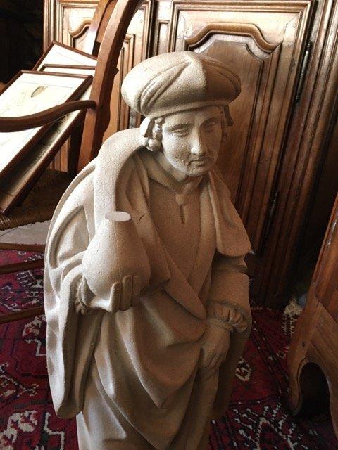 Statue en pierre-photo-2