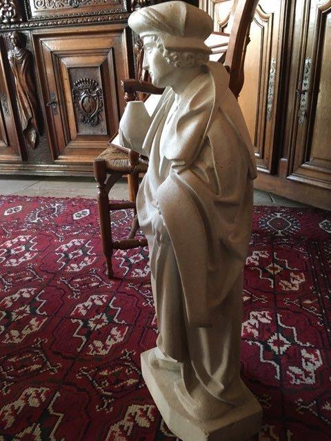 Statue en pierre-photo-3