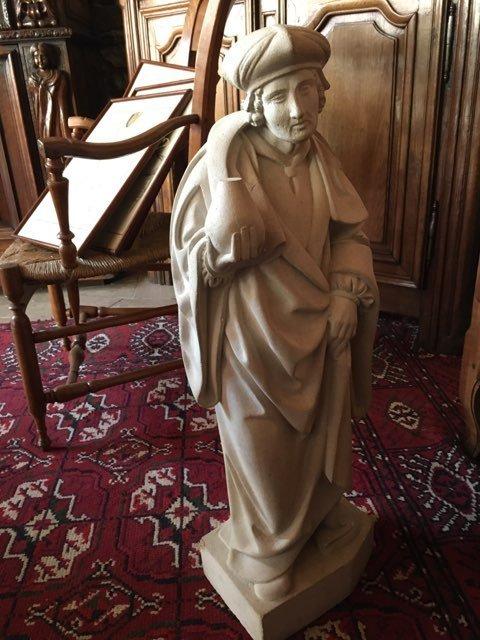 Statue en pierre-photo-4