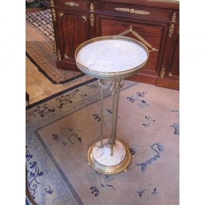 Small Pedestal Table