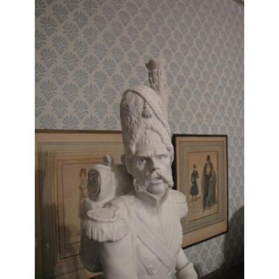 Statuette Militaire