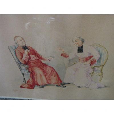 Religious Watercolor